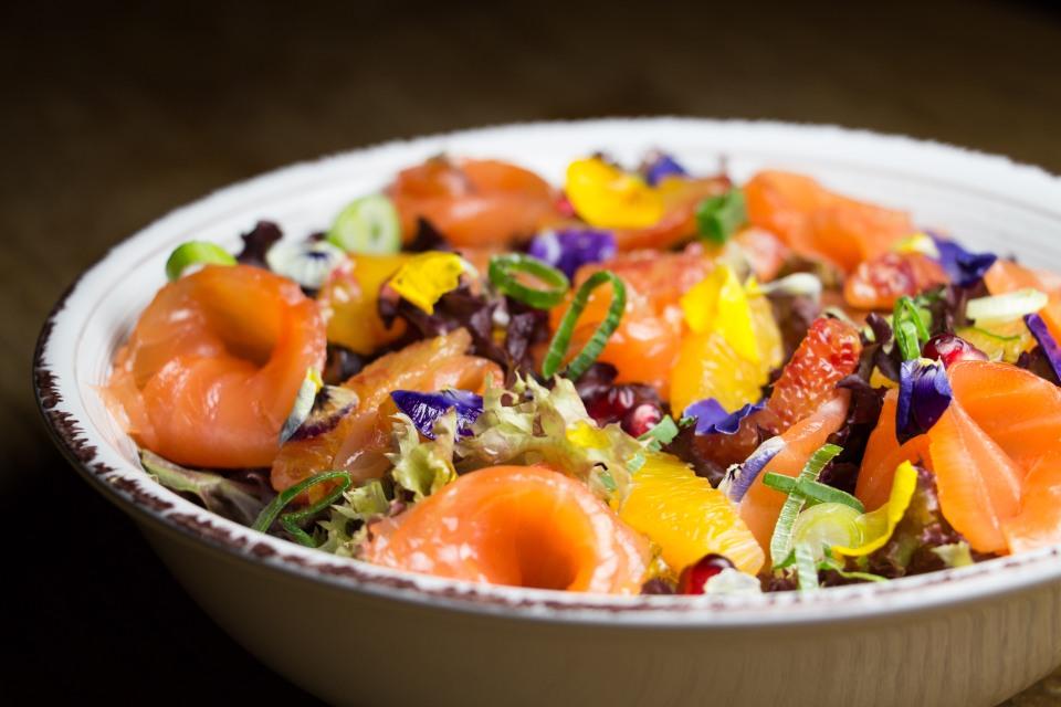 Froufrou Salade Saumon 2